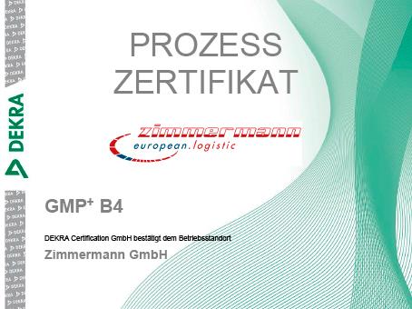 Zimmermann GmbH erhält GMP + B4 Zertifizierung: HEINLOTH - the ...